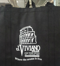 Slightly smaller than the canvas tote, but just as versitile!
