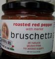 Viviano's Roasted Red Pepper Bruschetta