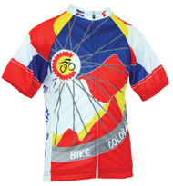 Spin2 Kids Bike Colorado Cycling Jersey
