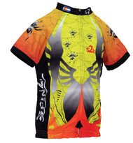 Spin2 Kids Spider Cycling Jersey