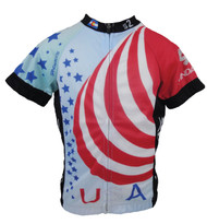 Spin2 Kids USA Flag Cycling Jersey