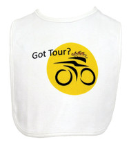 Got Tour Cycling Theme Bib