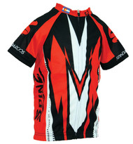 Spin2 Kids LaPlata Red Cycling Jersey