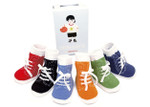 Trumpette Johnny Sneaker Socks - 6 Pairs