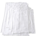 OsoCozy Bleached Chinese Prefolds- 6pk
