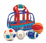 Melissa & Doug Fill and Spill Sports Bag