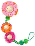 Haba Pacifier Chain Blossoms