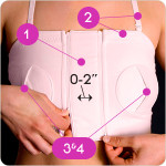Simple Wishes Hands Free Breast Pump Bra