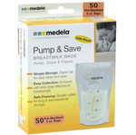 Medela Pump &amp; Save Breastmilk Bags - 50 pack