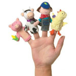 Manhattan Toy Storytime Finger Puppet Set - Old McDonald
