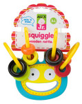 Alex Toys Jr Squiggle Wooden Rattle