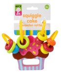 Alex Toys Jr Squiggle Wooden Cake Rattle