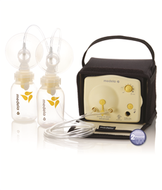 Medela pump available through insurance.