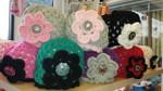 Handmade Crocheted Flower Hats