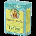 Badger® Chamomile & Calendula Baby Soap