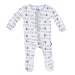 Kickee Pants® Print Ruffle Footie in Little Kittens' Lost Mittens