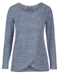 Milk Nursingwear® Sweater Knit Tulip-Front Nursing Top
