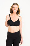 Simple Wishes® SuperMom All-in-One Bra® - Black