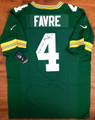 **RARE/EXCLUSIVE** Brett Favre Authentic Autographed Nike Green Bay Packers Pro-Combat Elite Jersey with Rare '95,'96,'97 MVP Inscription