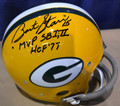 Bart Starr Autographed Official NFL TK Suspension Helmet with Inscriptions of HOF '77 and MVP SB I, II (only 2 left)