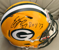 "*Rookie-of-the-Year Special* Eddie Lacy Autographed official Packers/NFL Speed Helmet with ""ROY '13"" Inscription"