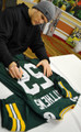 Clay Matthews Autographed Jersey with SB XLV CHAMPS inscription