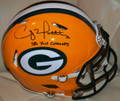 Clay Matthews Authentic Autographed Green Bay Packers Official NFL 'Speed' Helmet with FREE Inscription SB XLV CHAMPS