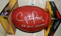 Clay Matthews Authentic Autographed Official NFL Football with FREE Inscription SB XLV CHAMPS