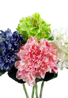Real Touch Artificial Silk Hydrangea Flowers - Floramatique Hydrangeas