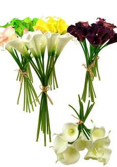 Real Touch Floramatique Mini Calla Lilies
