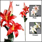 Real Touch (Floramatique) Tiger Lily Spray