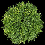 "10.5"" Diameter Azura Leaf Ball"
