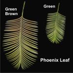 Phoenix Leaf (PVC)