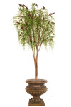 5-Foot Peppermint Berries Parasol w/6 Branches, 6804 Leaves