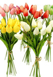 Real Touch Artificial Mini Tulip Flowers