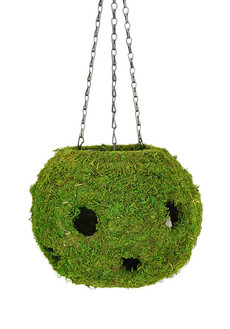 Woven Hanging Ball Planter - Herb Planters