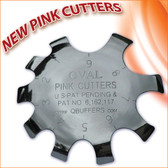 Q- Pink Cutters OVAL