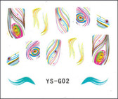 3D Nail Sticker-Feather #YS-G02