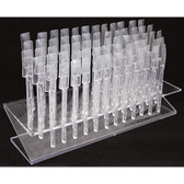 Nail Tip Display - 64 pc. - CLEAR