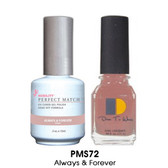 Perfect Match - PMS72 Always and Forever 2/Pack
