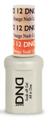 #12 - DND Mood Gel - Light Pink To Orange Nude 0.5 oz