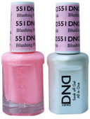 #551 - DND DUO GEL WITH MATCHING POLISH - BLUSHING PINK