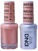 #555 - DND DUO GEL WITH MATCHING POLISH - PEACH FUZZ