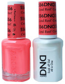 #556 - DND DUO GEL WITH MATCHING POLISH - CORAL REEF