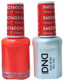 #560 - DND DUO GEL WITH MATCHING POLISH - ORANGE VILLE