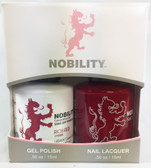 Lechat Nobility Gel and Polish Duo - Rich Red (0.5 fl oz)