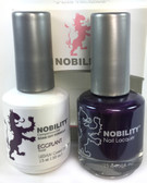 Lechat Nobility Gel and Polish Duo - Eggplant (0.5 fl oz)