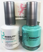 Lechat Nobility Gel and Polish Duo - Turquoise Sky (0.5 fl oz)