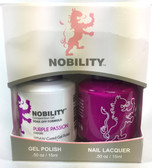 Lechat Nobility Gel and Polish Duo - Purple Passion (0.5 fl oz)