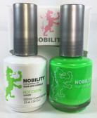 Lechat Nobility Gel and Polish Duo - Hot Green (0.5 fl oz)